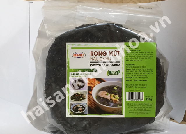 rong mứt nấu canh